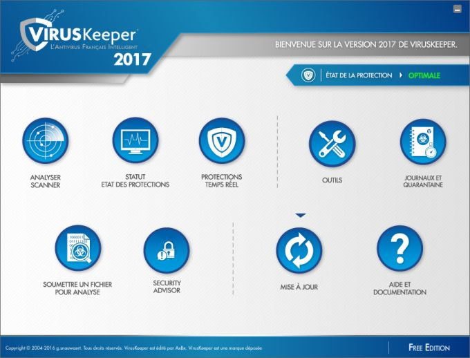 VirusKeeper 2017 Free Edition