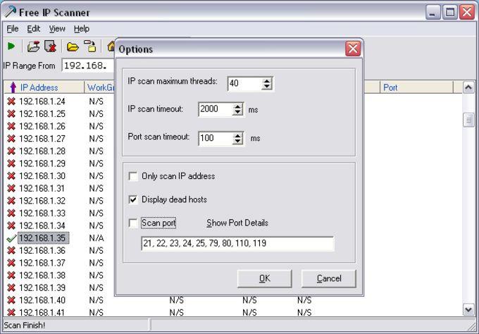 Free IP scanner