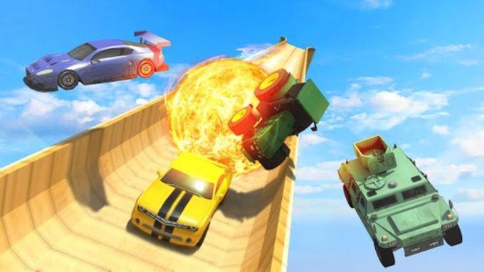 Mega Ramp Transform Race Impossible 3D