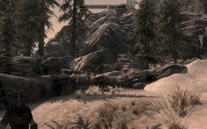 Skyrim Antiallias and sharpen effect