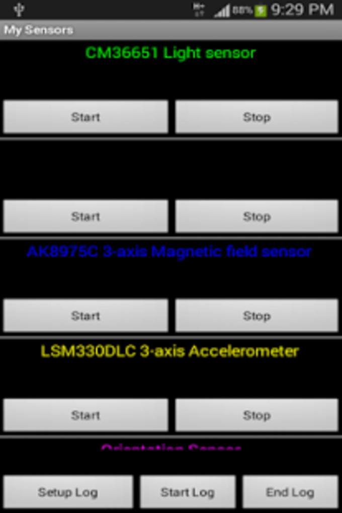 My Sensors Ad