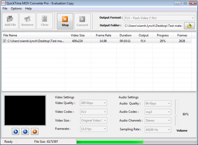 QuickTime MOV Converter Pro