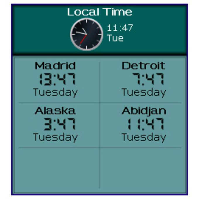 trackIT: TimeZone Edition
