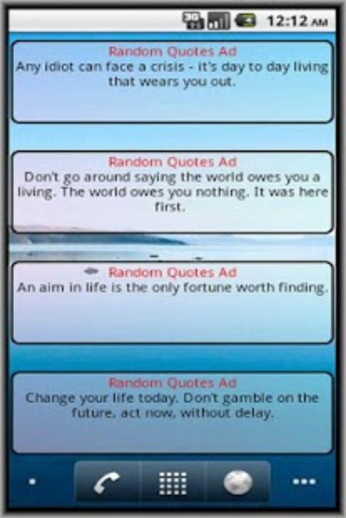 Random Quotes Ad