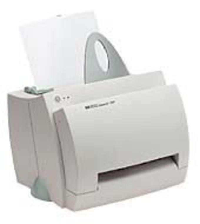 HP LaserJet 1100 Printer series drivers