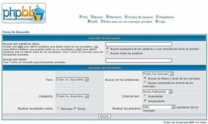 Traductor al español para phpBB