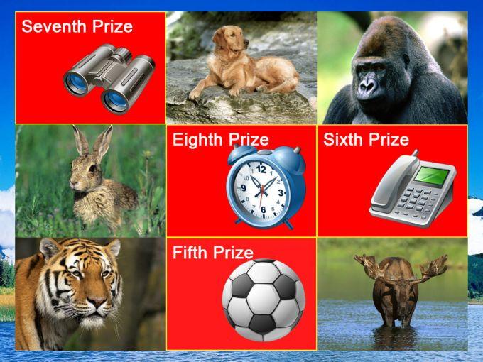 Super Prize Grid
