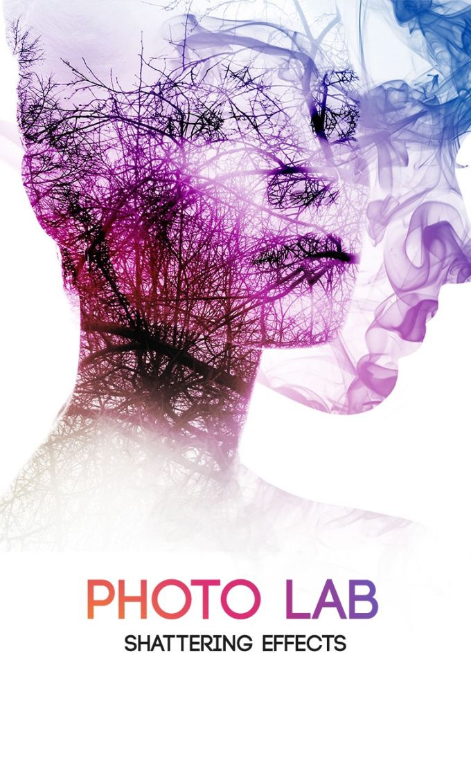 Photo Lab - Shattering Effects