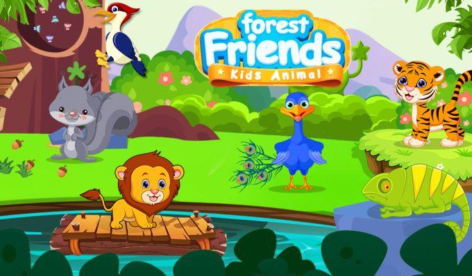 Forest Friends Kids Animal