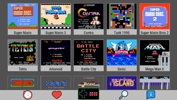 Emulator For All  NES SNES GBA GBC MAME N64
