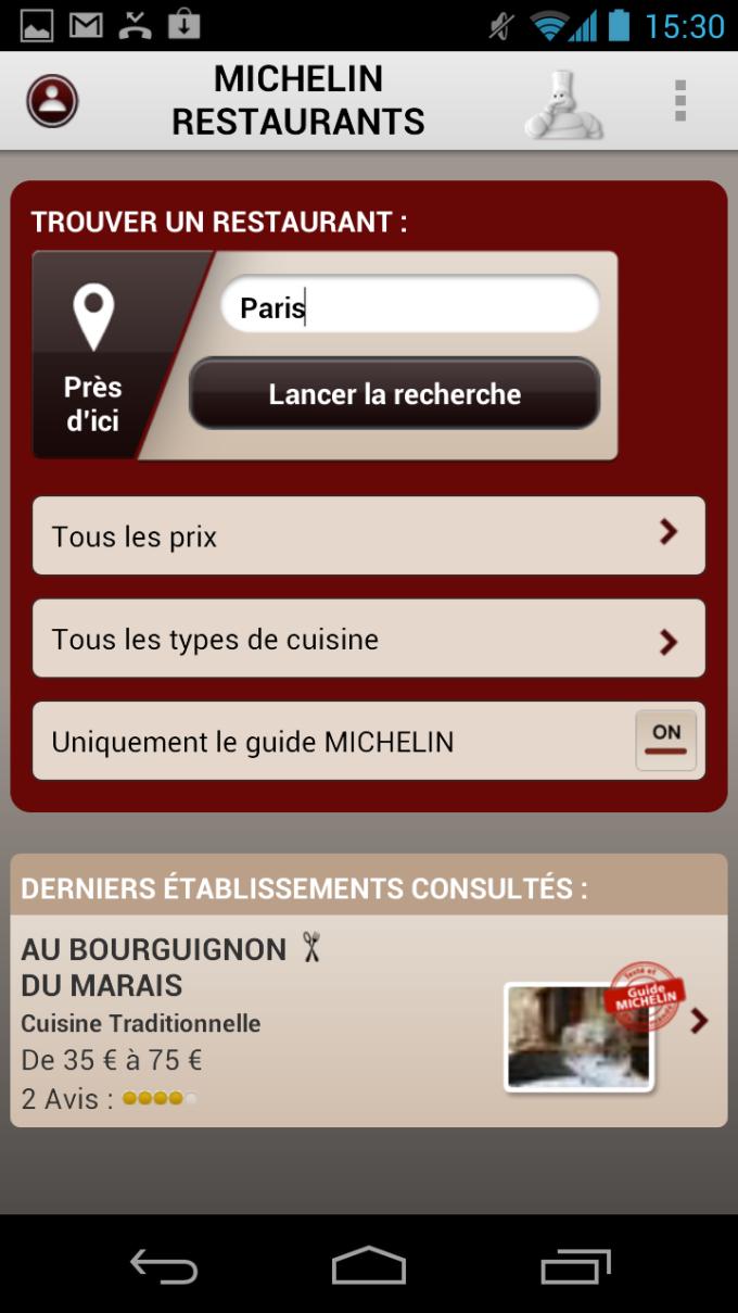 Michelin Restaurants