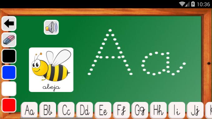 juegos infantiles aprender a escribir