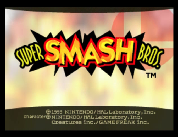 Super Smash Bros. Screensaver