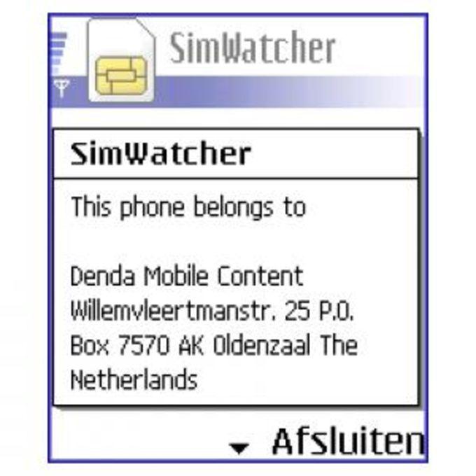 SimWatcher