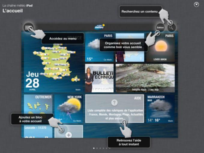 La Chaîne Météo pour iPad
