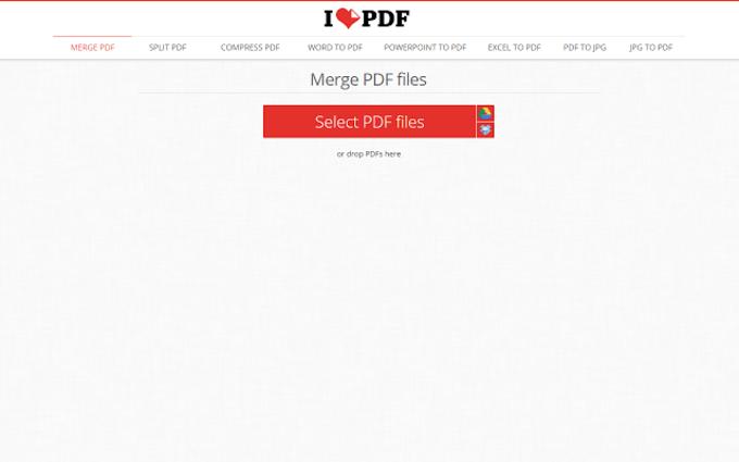 Online PDF tools | ilovepdf.com