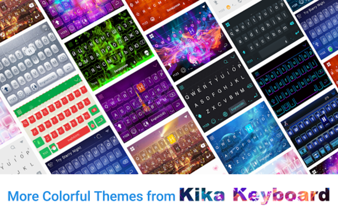 Sparkle Lotus Kika Keyboard