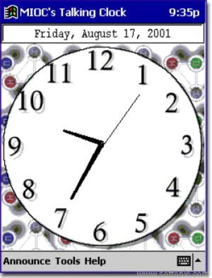 MIOC's Talking Clock