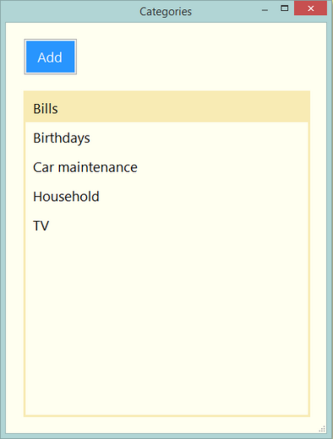 Desktop Task List
