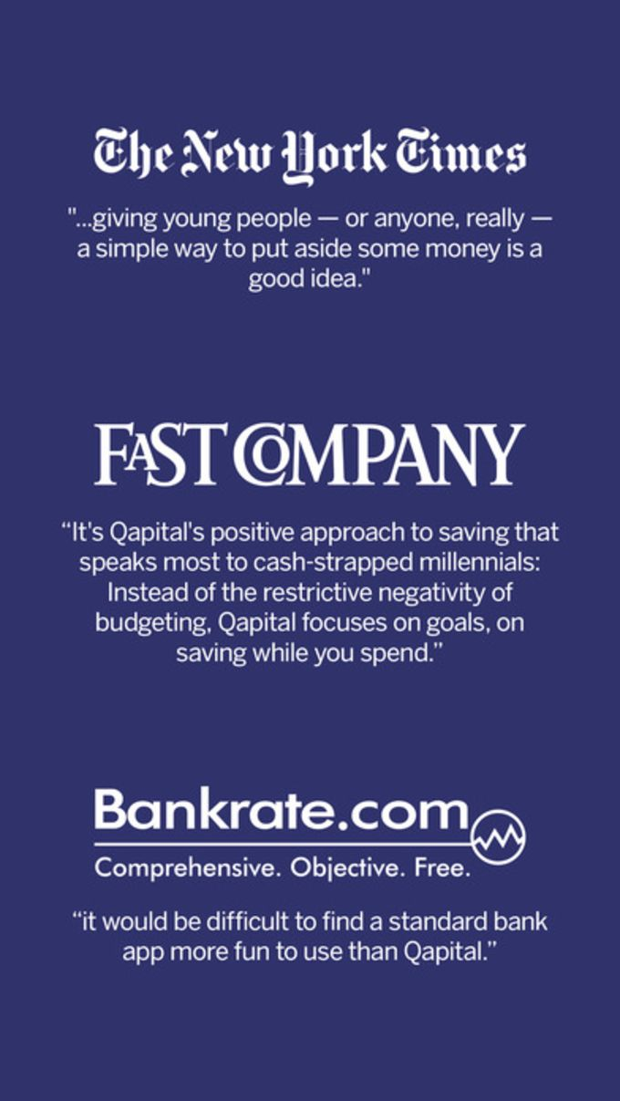 Qapital - Automate your savings