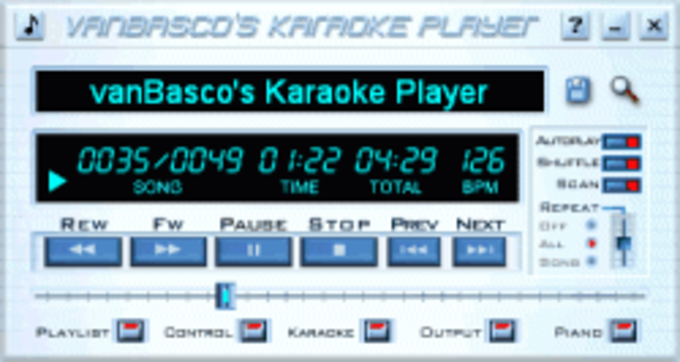 vanbasco karaoke player 2.53