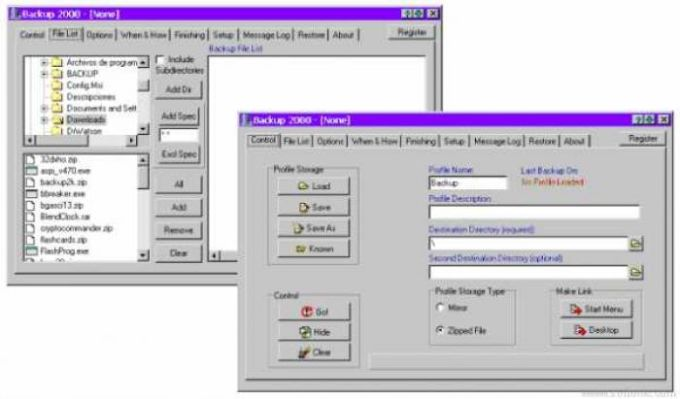 Backup 2000