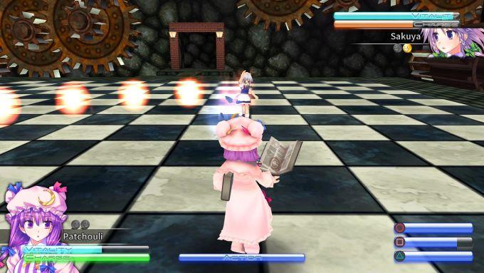 Touhou Kobuto V: Burst Battle PS VR PS4