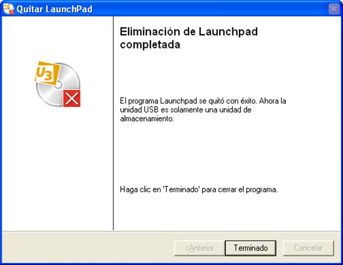 U3 Launchpad Removal Tool