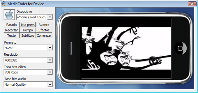 MediaCoder iPod/iPhone/iPad Touch Edition