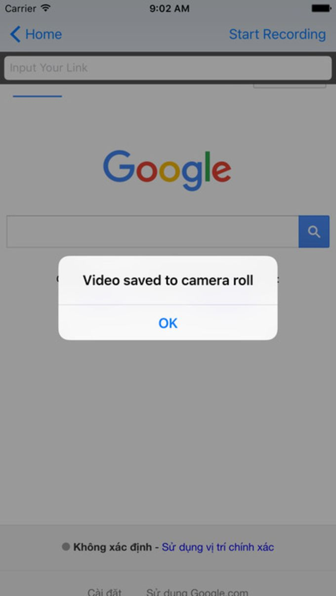 Video Recorder -1 Click to easy Record Web Browser