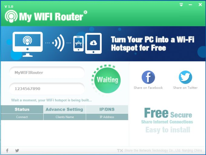 My WIFI Router