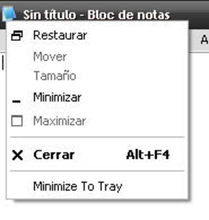 Window Minimizer