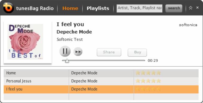 tunesBag Desktop Radio