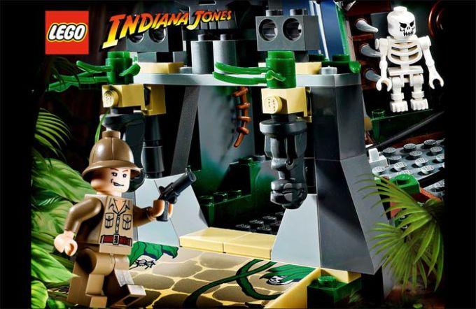 LEGO Indiana Jones Screensaver