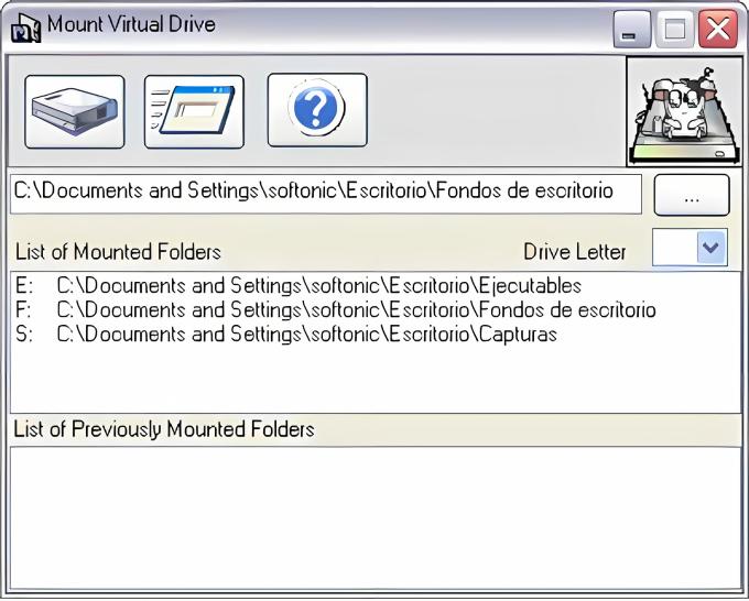 WBro Mount Virtual Drive