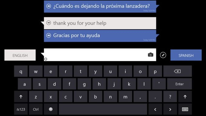 Bing Translator for Windows 10