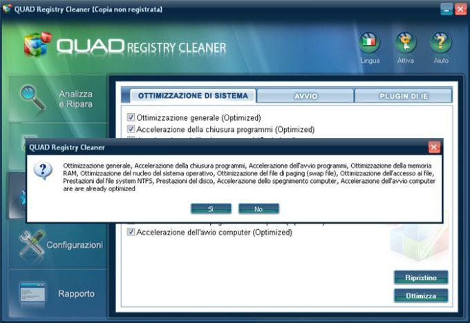QUAD Registry Cleaner