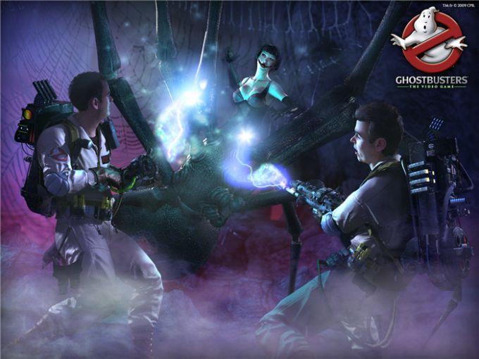 Ghostbusters: Le fond d'écran du jeu vidéo