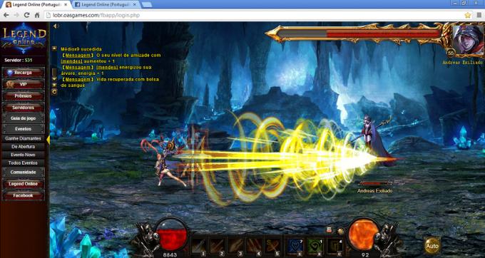Launcher de Legend Online
