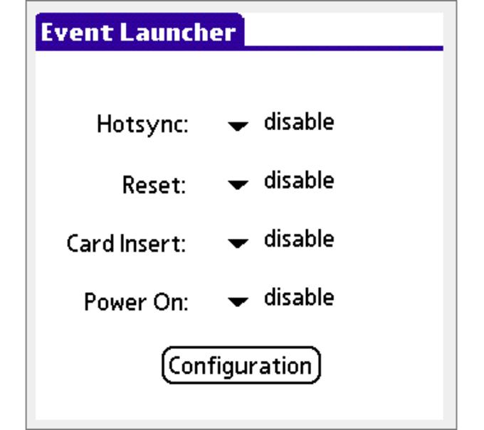 Event Launcher
