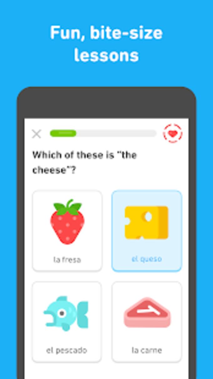 Duolingo - Apprenez l'anglais