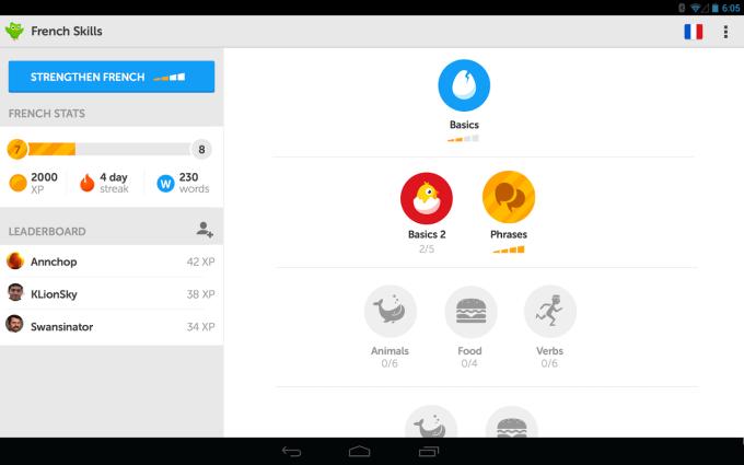 Duolingo - idiomas gratis