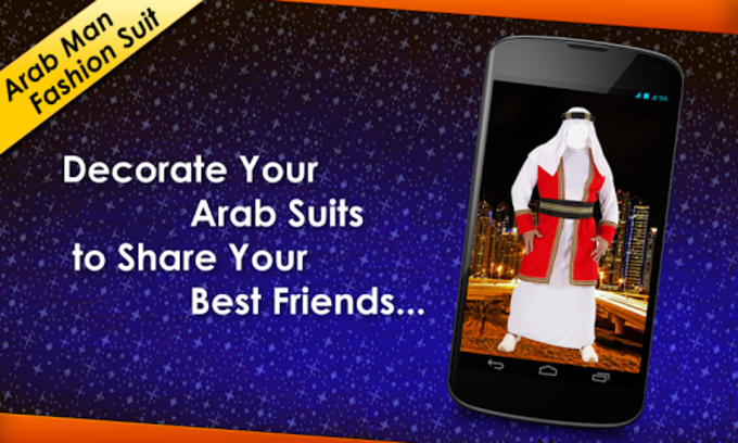 Arab Man Fashion Suit