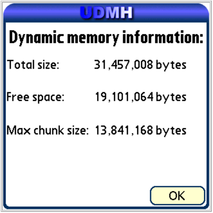 UDMH – Unlimited Dynamic Memory Hack