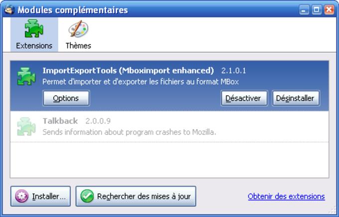 ImportExportTools