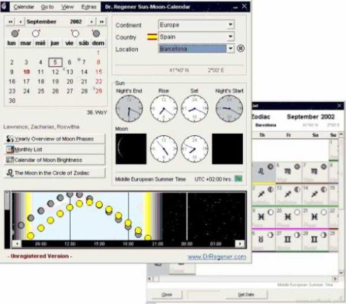 Dr. Regener Calendario Solar Lunar