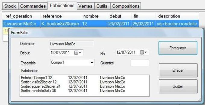 Gestion de Stock Minimale GSM