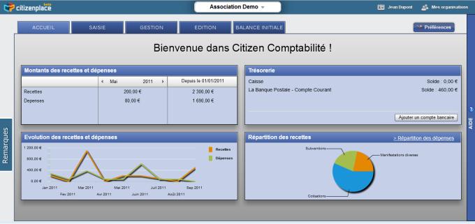 Citizen Comptabilité