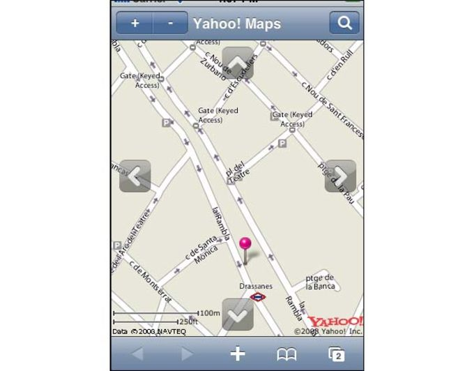Yahoo! Maps for iPhone