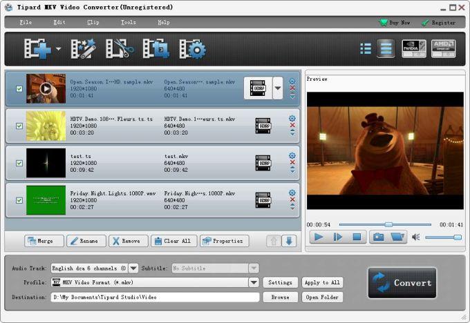 Tipard MKV Video Converter
